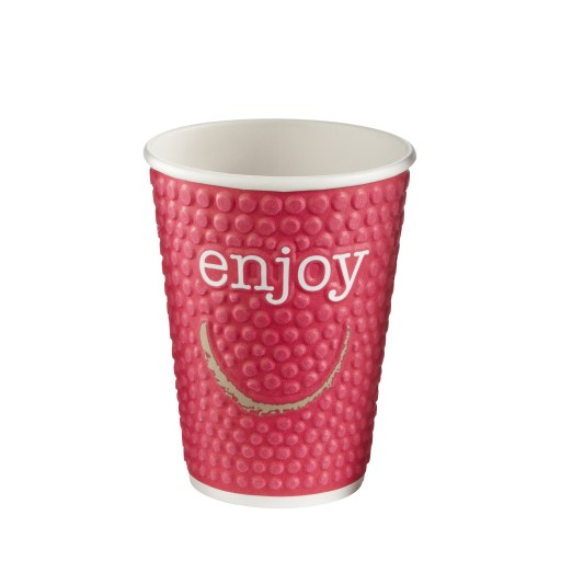 12oz Insulated Enjoy Hot Cup
