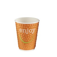 9oz Insulated Enjoy Hot Cup