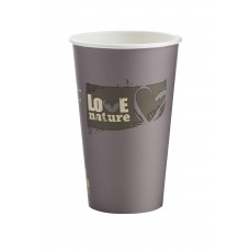 16oz BioWare Single Wall Hot Cup