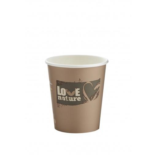 9oz BioWare Single Wall Hot Cup