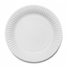 """7"""" Paper Plate WB"""