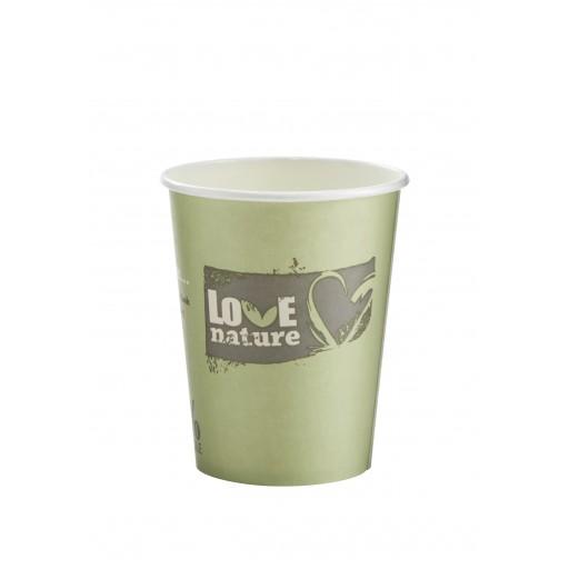 12oz BioWare Single Wall Hot Cup