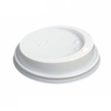 90mm Sip Lid White