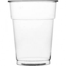 20oz Polypropylene Flexi Glass Clear (1 Pint) CE